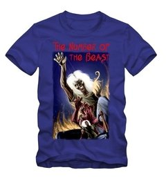 Combo Camiseta + Livro - The Number of the Beast - comprar online