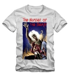 Combo Camiseta + Livro - The Number of the Beast na internet