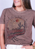 T-shirt Louis Caramelo
