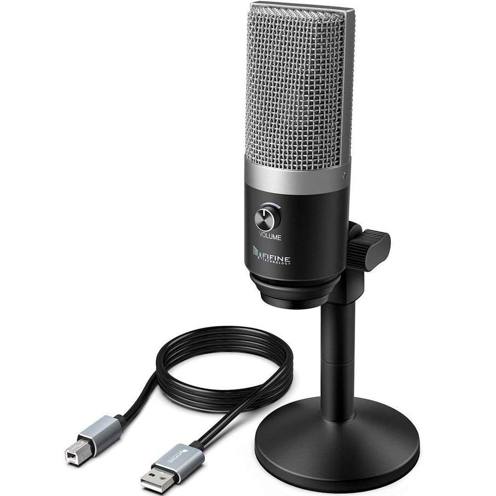 Micrófono profesional condensador USB K670 FIFINE