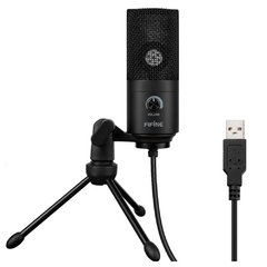 Micrófono profesional condensador USB para PC K669B FIFINE Negro