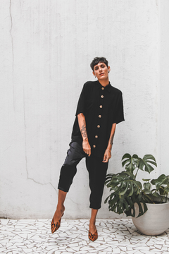 CAMISA SQUARE // ALL BLACK - A Fine Mess