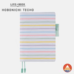 Hobonichi Techo Cover - A5 - PASTEL STRIPES
