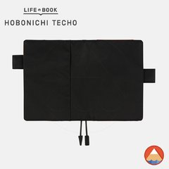 Hobonichi Techo Cover - A6 - BLACK X ORANGE - comprar online