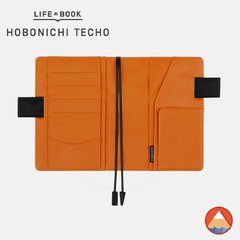 Hobonichi Techo Cover - A6 - BLACK X ORANGE na internet