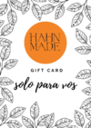 HahnMade Gift Card - comprar online