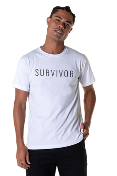 T-shirt Survivor - Masculina
