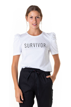 Puffed Survivor - Feminina