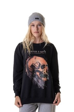 Moletom Careca Skull Metallica - Unissex (SALE)