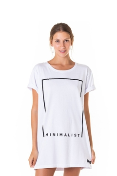 Long-T Minimalist - Unissex - Useliverpool