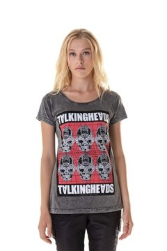 T-shirt Estonada Talking Heads II - Feminina