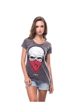 T-shirt Estonada Foo Figthers - Feminina