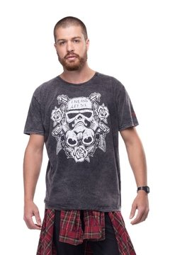 T-shirt Estonada Hells trooper - Masculina