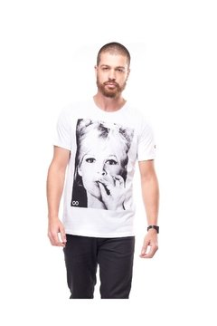 T-shirt Lost Portraits Brigitte Smoking - Masculina