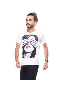 T-shirt Lost Portraits Cindy Crawford - Masculina