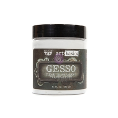 Gesso Clear (Transparente) Finnabair - Art Basics 250ml