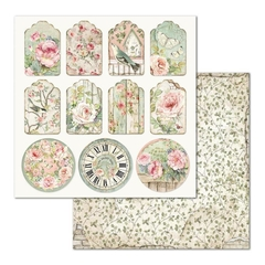 "Papel 30.5x30.5cm (12""x12"")  - House of Roses Tag"
