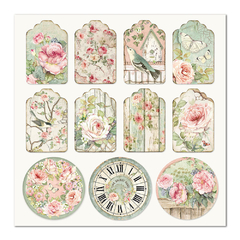 "Papel 30.5x30.5cm (12""x12"")  - House of Roses Tag - comprar online"