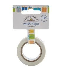 Washi Tape / Fita Adesiva Decorada Presentes - Doodlebug