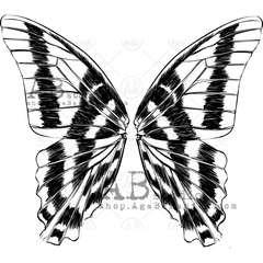 "AB Studio - Carimbo - ""Butterfly Wings"""
