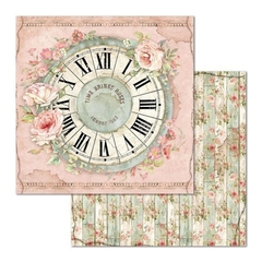 "Papel 30.5x30.5cm (12""x12"")  - House of Roses Clock"