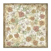 "Papel 30.5x30.5cm (12""x12"")  - Forest Undergrowth - Stamperia na internet"