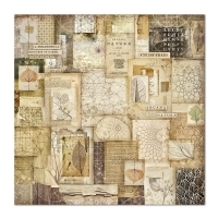 "Papel 30.5x30.5cm (12""x12"")  - Forest Natura Patchwork - Stamperia - comprar online"