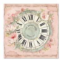 "Papel 30.5x30.5cm (12""x12"")  - House of Roses Clock - comprar online"