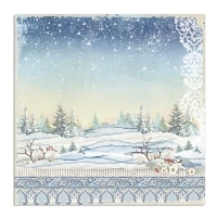 "*Pre-venda p/Outubro Bloco 10 Papéis 30.5x30.5cm (12""x12"") + bônus - Winter Tales - Papel scrapbook, Material scrapbook e Mixed media, Aulas scrapbook Mon Papier"