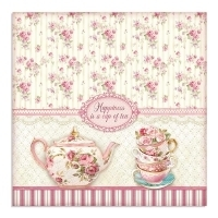 "Papel 30.5x30.5cm (12""x12"")  - Sweety Cup of Tea - comprar online"