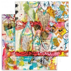 "Coleção de 7 Papéis ""Shine your Light"" by TandiArt - AB Studio - Mon Papier Scrapbook, Mixed Media, Decoupage e Cartonagem"
