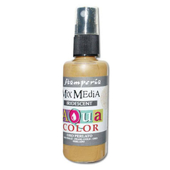 Tinta Spray Aqua Color Ouro Perolado - Stamperia