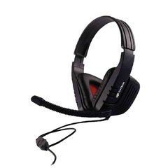 Headset C3 Tech Gamer MI-2558, Drivers 40mm, Preto - MI-2558RB