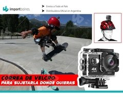 Cámao Plus Pro Resolucion Full Hd 4k 16mp Lcd Sumergible Accesorios Deportes Extremos Surfra Deportiva G - IMPORTBAIRES