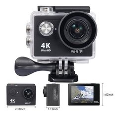 Cámao Plus Pro Resolucion Full Hd 4k 16mp Lcd Sumergible Accesorios Deportes Extremos Surfra Deportiva G