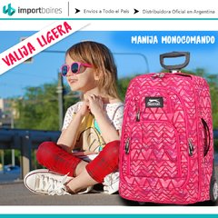 Mochila Carro Porta Notebook Valija Carry On Monocomando - comprar online