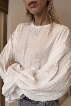 Sweater love grace / off white - comprar online