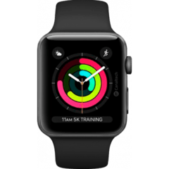 - Apple Watch Series 3 38mm - Cinza espacial - comprar online