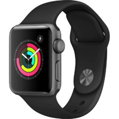- Apple Watch Series 3 38mm - Cinza espacial