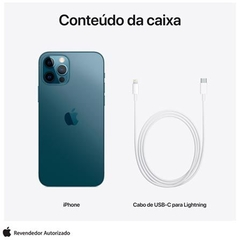 - - iPhone 12 Pro Max 128GB Azul Pacifico - Desbloqueado - MG913