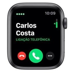 - Apple Watch Series 5 44mm - preto - MWVF2 na internet