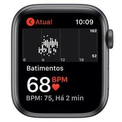 - Apple Watch Series 5 44mm - preto - MWVF2 - loja online