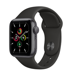 - Apple Watch SE 44mm GPS - Cinza espacial - MYDT2
