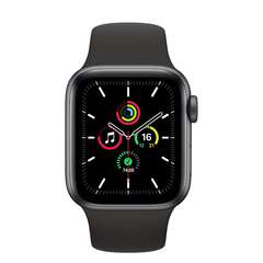 - Apple Watch SE 44mm GPS - Cinza espacial - MYDT2 - comprar online