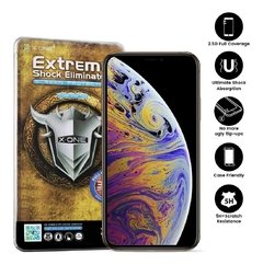 X-ONE Pelicula iPhone XS Max/11 Pro Max 6.5 Estreme Shock Eliminator 2D FULL