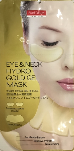 MASCARA FACIAL EYE &NECK HYDRO GOLD GEL MASK