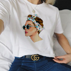 T-SHIRT CAMISETA FEMININA MANGA CURTA FASHION