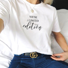 T-SHIRT CAMISETA FEMININA MANGA CURTA YOU'RE A LIMITED EDITION
