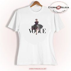 T-SHIRT CAMISETA FEMININA MANGA CURTA VOGUE GIRL