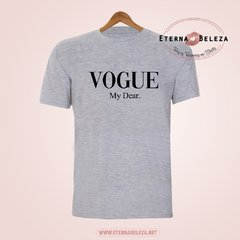 T-SHIRT CAMISETA FEMININA MANGA CURTA VOGUE MY DEAR